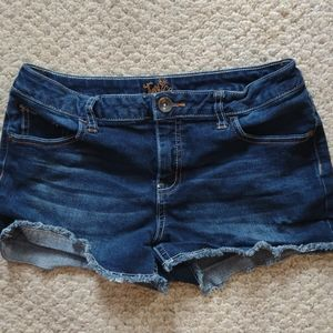 JUSTICE Size 12 1/2 Girl's cut off shorts
